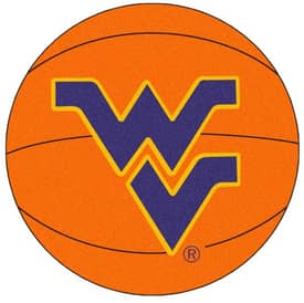 Fanmats Basketball West Virginia Basketball Rug