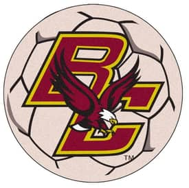 Fanmats Soccer Boston College Soccer Ball Rug