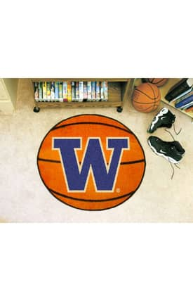 Fanmats Basketball Washington Basketball Rug