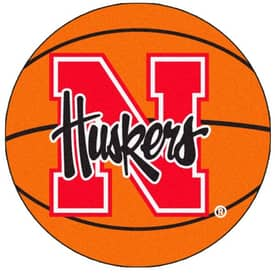 Fanmats Basketball Nebraska Basketball Rug