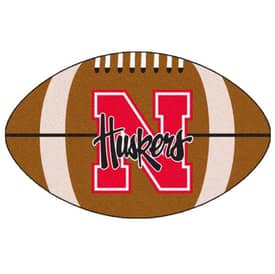 Fanmats NFL Nebraska Football Rug