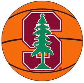 Fanmats Basketball Stanford Basketball Rug