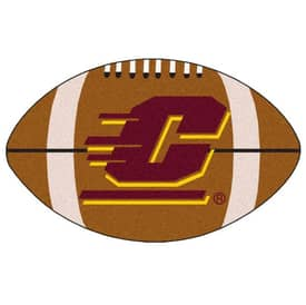 Fanmats NFL Central Michigan Football Rug