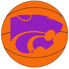Fanmats Basketball Kansas State Basketball Rug
