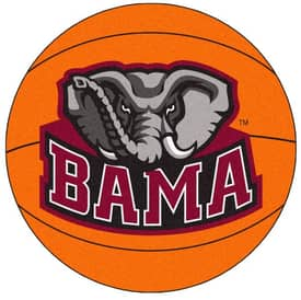 Fanmats Basketball Alabama Basketball Rug