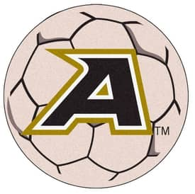 Fanmats Soccer US Military Academy Soccer Ball Rug