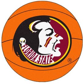 Fanmats Basketball Florida State Basketball Rug