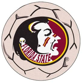 Fanmats Soccer Florida State Soccer Ball Rug