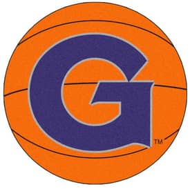Fanmats Basketball Georgetown Basketball Rug