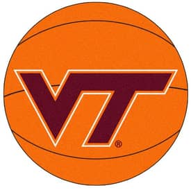 Fanmats Basketball Virginia Tech Basketball Rug