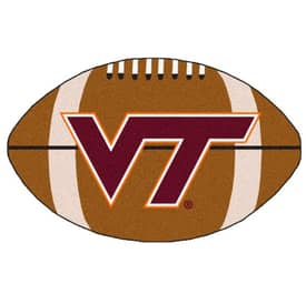 Fanmats NFL Virginia Tech Football Rug
