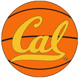 Fanmats Basketball California Berkeley UC of Basketball Rug