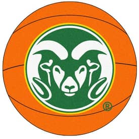 Fanmats Basketball Colorado State Basketball Rug