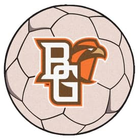 Fanmats Soccer Bowling Green State Soccer Ball Rug