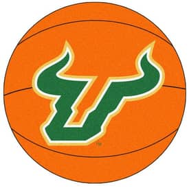Fanmats Basketball South Florida Basketball Rug