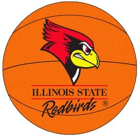 Fanmats Basketball Illinois State Basketball Rug