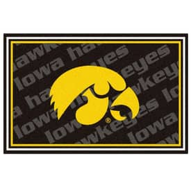 Fanmats College Rugs University of Iowa Rug