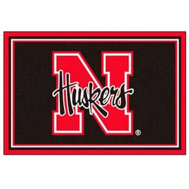 Fanmats College Rugs University of Nebraska Rug