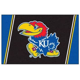 Fanmats College Rugs University of Kansas Rug