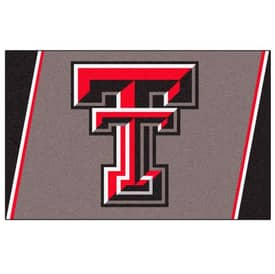 Fanmats College Rugs Texas Tech University Rug