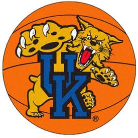 Fanmats Basketball Kentucky Basketball Rug