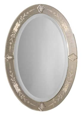 Uttermost Ornate Donna Mirror II