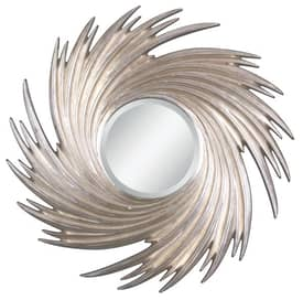 Uttermost Sunburst Cyclone Mirror