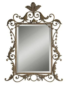 Uttermost Ornate Corliss Mirror