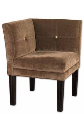 Uttermost Chairs Nia Corner Chair Furniture