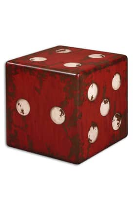 Uttermost Tables Dice Accent Table Furniture