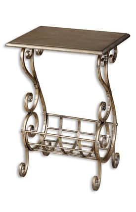 Uttermost Tables Lilah Magazine Table Furniture