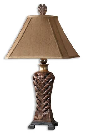 Uttermost Barclay Barclay 26324 Table Lamp in Copper Bronze Finish Lighting