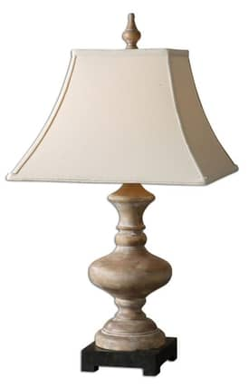 Uttermost Serdiana Serdiana 26525 Table Lamp in Roasted Pecan Finish Lighting