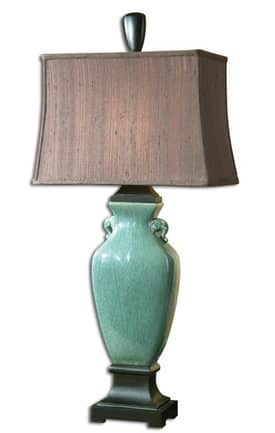 Uttermost Modern Hastin Table Lamp with Oil Rubbed Bronze Finish Lighting