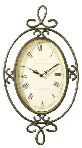 Uttermost Wall Clocks Hamlin Wall Clock