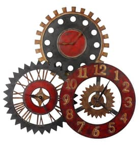 Uttermost Wall Clocks Rusty Movements Wall Clock