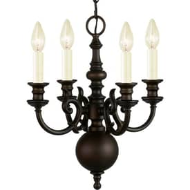Royce Lighting Stalton Stalton RC2195/4ORB 4 Light Chandelier in Oil Rubbed Bronze Finish Lighting