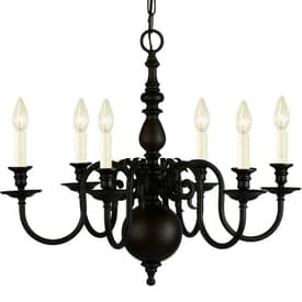 Royce Lighting Stalton Stalton RC2195/6ORB 6 Light Chandelier in Oil Rubbed Bronze Finish Lighting