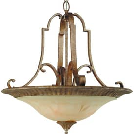 Royce Lighting Belcaro Belcaro RC2250/4UP-82 4 Light Chandelier in Gilded Imperial Silver Finish Lighting