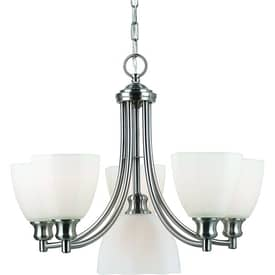Royce Lighting Monroe Monroe RC5305/5+1-30 6 Light Chandelier in Pewter Finish Lighting