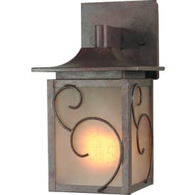 Royce Lighting Outdoor Lighting Outdoor Lighting RL014SM-15 Wall Sconce in Corinthian Bronze Finish Lighting