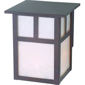 Royce Lighting Outdoor Lighting Outdoor Lighting RL148WP Wall Lantern in Weathered Patina Finish Lighting