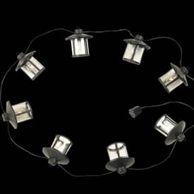 Royce Lighting String Lights Outdoor 8 Light String Lights RSL001/8-23 in Oil Rubbed Bronze Finish Lighting