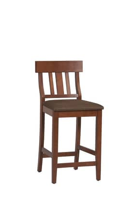 Linon Home Decor Torino Slat Back Counter Stool Furniture