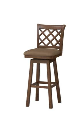 Linon Home Decor Stools Sussex Wood Swivel Counter Stool Furniture