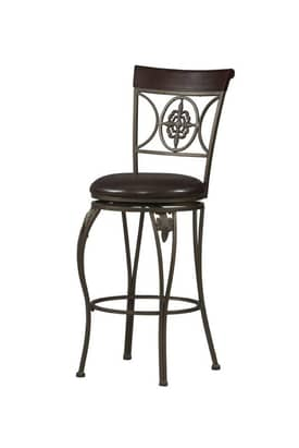 Linon Home Decor Stools Fleur De Lis Counter Stool Furniture