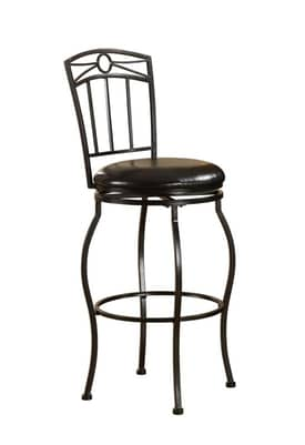 Linon Home Decor Stools Circle Top Metal Bar Stool Furniture