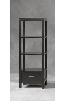 Linon Home Decor Sutton Sutton Black Plasma TV Tower Furniture