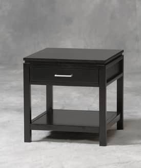 Linon Home Decor Sutton Sutton Black End Table Furniture