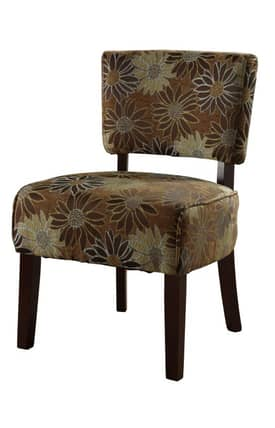Linon Home Decor Chairs Eden Mod Contemporary Accent Chair Furniture